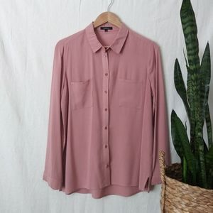 Ambience Blush Pink Button Down Shirt